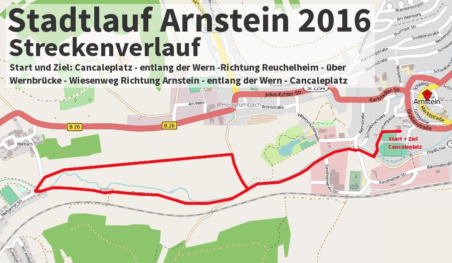 Stadtlauf Arnstein 2016